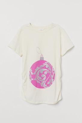 H&M MAMA Printed T-shirt