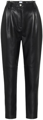 Magda Butrym Wembley high-rise leather pants