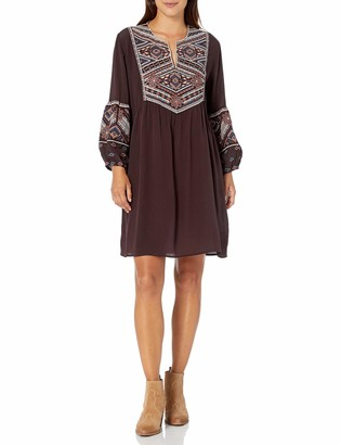 3J Workshop by Johnny was Women's Silk Dress with Embroidery