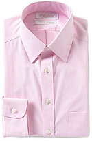 Roundtree & Yorke Gold Label Non-Iron Solid Slim-Fit Point Collar Dress Shirt