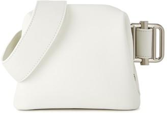 Osoi Peanut Brot white leather belt bag