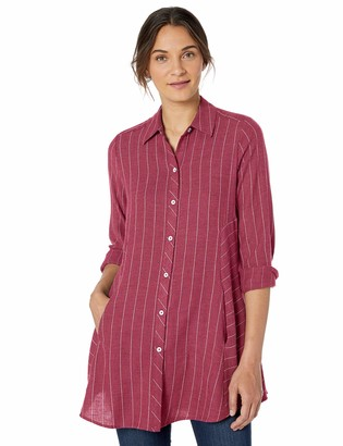 Foxcroft Women's Cici Brushed Herringbone Tunic