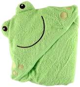 Luvable Friends Animal Face Hooded Woven Terry Baby Towel
