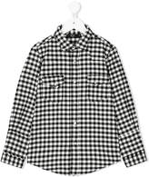 No21 Kids checked shirt