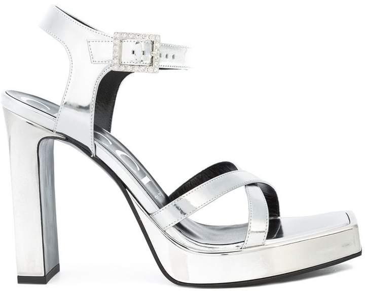 Gucci Costanze high heeled sandals