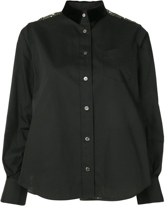 Sacai Lace Back Shirt
