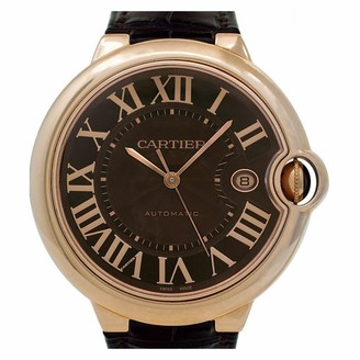 Cartier Ballon bleu Brown Pink gold Watches