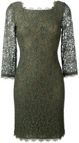 Diane von Furstenberg lace fitted dress