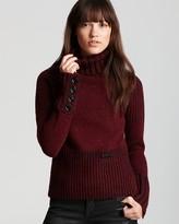 Burberry Brit Heritage Tweed Turtleneck