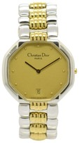 Christian Dior 45.204 Stainless Steel & Gold Plated Quartz 31.5mm Mens Watch