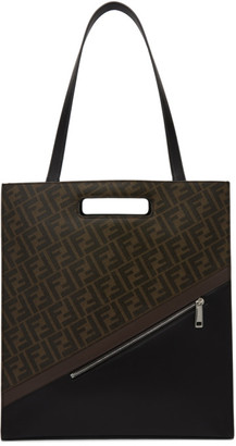 Fendi Brown Forever North/South 197 Tote