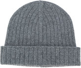 A.P.C. ribbed beanie hat