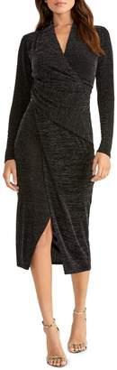 Rachel Roy Bret Long-Sleeve Knee-Length Dress