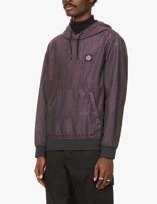 Stone Island Poly Colour metallic shell hoody