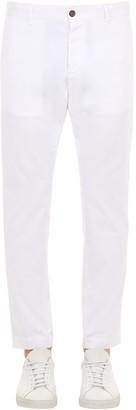 DSQUARED2 16.5cm Cotton Canvas Chino Pants