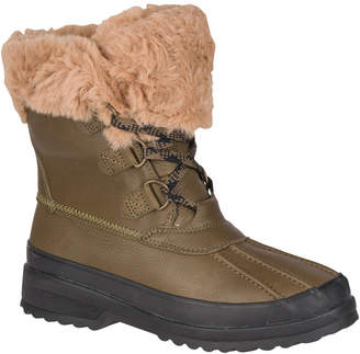 Sperry Women Maritime Leather Winter Boots Women Shoes