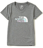 The North Face Little/Big Girls 5-18 Reaxion Short-Sleeve V-Neck Graphic Tee
