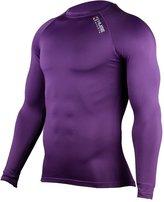 HUGE SPORTS Hugesports Men's Fleece Coldgear Thermal Baselayer Compression Shirt Long Sleeves