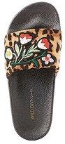 Charlotte Russe Patch Leopard Slide Sandals