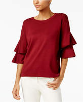 NY Collection Tiered Ruffled Top