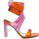 ATTICO The Lace Up Sandals
