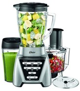 Oster Pro 1200 Blender Plus Smoothie Cup & Food Processor - Brushed Nickel-BLSTMB-CBF-000