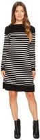 Kate Spade Stripe Swing Sweater Dress Women's Dress