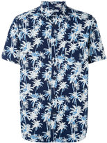 Edwin palm tree print shirt - men - Cotton - S