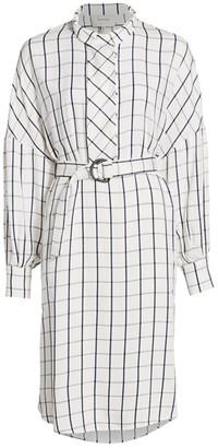 MUNTHE Essential Windowpane Dress