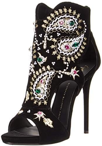 Giuseppe Zanotti Women's Beaded Open Toe Dress Sandal