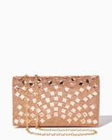 Charming charlie Radial Shine Evening Clutch