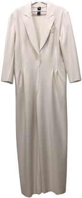 Norma Kamali White Polyester Jumpsuits