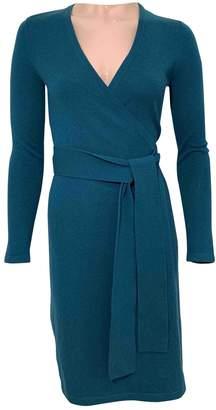Diane von Furstenberg \N Green Cashmere Dresses