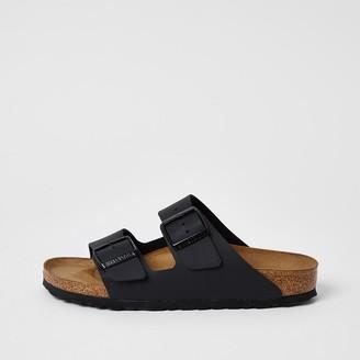 River Island Birkenstock black Arizona sandals