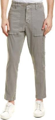 J Brand Koefficient Dull Darwi Linen-Blend Relaxed Slouch Fit