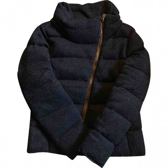 Colmar Blue Wool Coat for Women