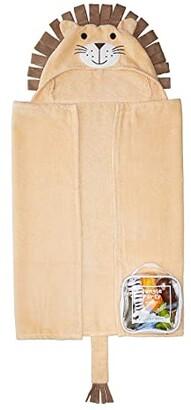 Elegant Baby Lion Bath Wrap and Squirtie Set (Infant) (Tan) Bath Towels