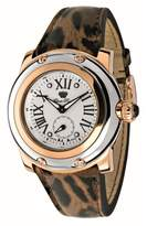 Glam Rock Women's Summer Time 40mm Leather Band Swiss Quartz Watch Gr40062