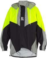 Balenciaga Double-hem windbreaker jacket