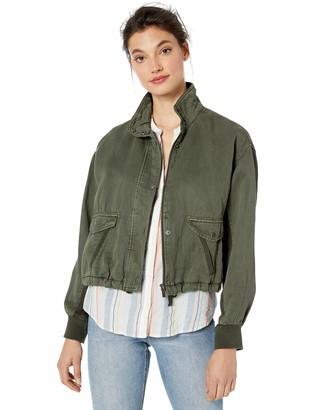 Splendid Women's Linen Cropped Jacket