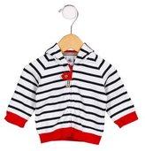 Petit Bateau Boys' Stripe Hooded Sweater