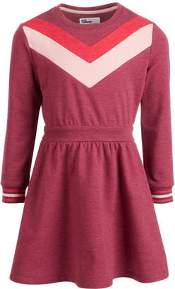 Epic Threads Little Girls Chevron Sweatshirt Dress