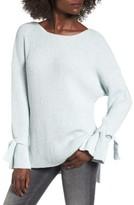 Lush Women's Tie Sleeve Sweater
