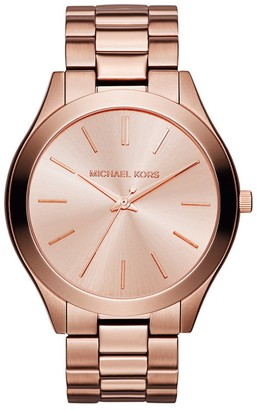 Michael Kors Womens Analogue Quartz Watch with Stainless Steel Strap MK3205_0