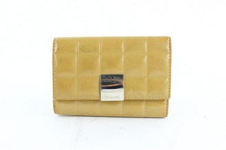 Chanel Yellow Patent leather Purses, wallets & cases