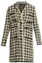 Rochas Wool-blend tweed coat