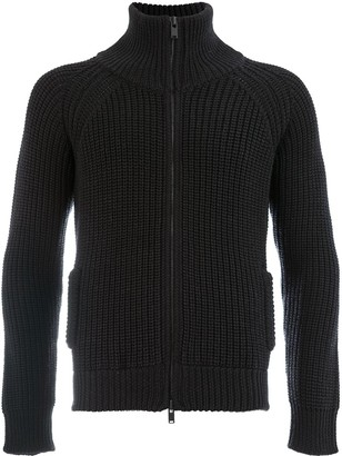 Roberto Collina Ribbed Knit Jacket