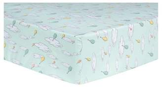 Trend Lab Dr. Seuss by Fitted Crib Sheet - Oh, the Places You'll Go! Balloons
