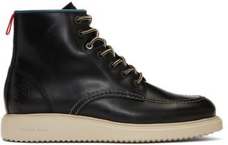 Paul Smith Black Caplan Boots