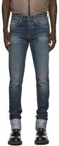 Off-White Indigo Selvedge Denim Jeans
